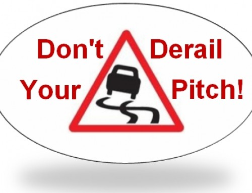 Don't derail your sales pitch