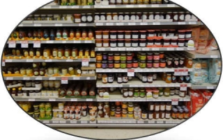 How deciding on home page content is like a supermarket shelf