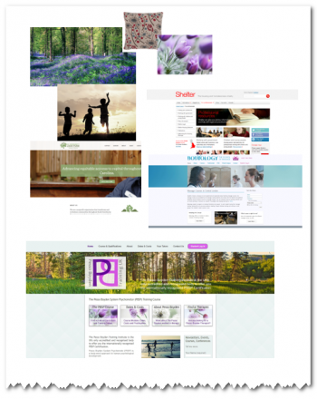 What are the steps of website design - the mood board